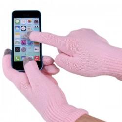 Перчатки для сенсорных экранов Розовый
