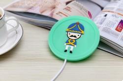 USB подогрев чашки Солдатик Зеленый