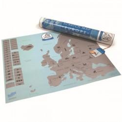 Скретч Карта Европы ENG