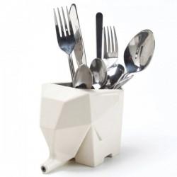 Сушилка для столовых приборов Слон Бежевый