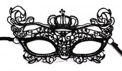 Кружевная маска Корона