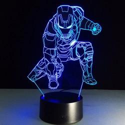 3D светильник Железный человек