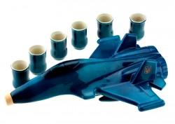 Коньячный набор самолет