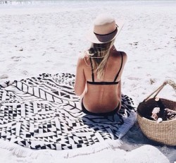 Пляжный Коврик Black Style