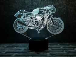 3D-светильник Мотоцикл 7