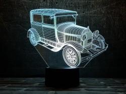 3D-светильник Автомобиль 33