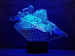 3D-светильник Самолет 6