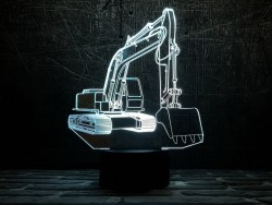 3D-светильник Эксаватор