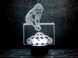 3D-светильник Бильярд