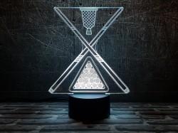 3D-светильник Бильярд 2