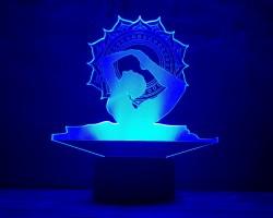 3D-светильник Йога