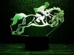 3D-светильник Конный спорт