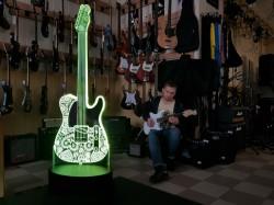 3D-светильник Гитара 2