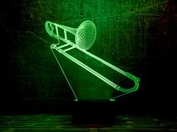 3D-светильник Труба 3