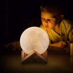 Детский Ночник Луна, 8 см