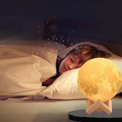Детский Ночник Луна 15 см