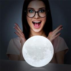 3D светильник-Ночник Луна 10 см