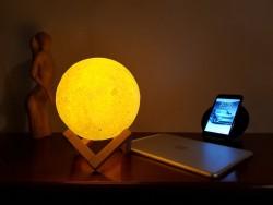 Детский Ночник Луна, 20 см