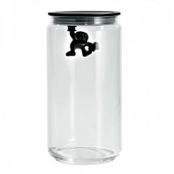 Емкость для хранения продуктов Gianni Alessi 1400 ml Черная