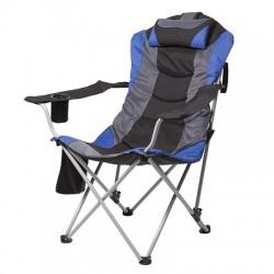 Кресло Директор - синий-черный Time Eco