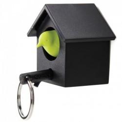 Ключница настенная и брелок для ключей Cuckoo Qualy Черный / Зеленый