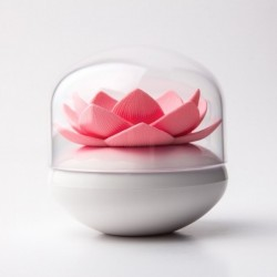 Подставка для ватных палочек Lotus Cotton Bud Qualy Белая / Розовая