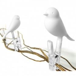 Набор прищепок Peg Sparrow Qualy Белый