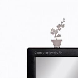 Украшение для монитора Орхидея Peleg Design