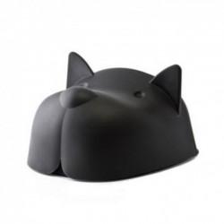 Миска для собак с крышкой Mr.Dog Qualy Черная