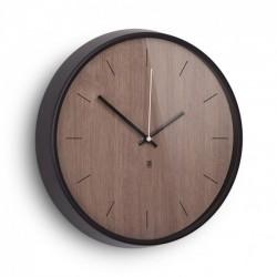 Настенные часы Madera Umbra Черные / Коричневые