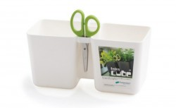 Горшок для растений TWINCE CUBE - белый, 2,5 л