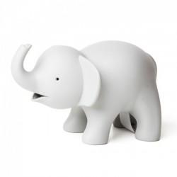 Диспенсер для скотча и скрепок Elephant Qualy Серый