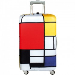 Чехол для чемодана PIET MONDRIAN Composition Medium LOQI