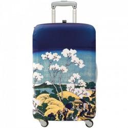 Чехол для чемодана HOKUSAI Fuji from Gotenyama Medium LOQI