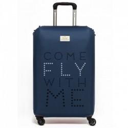 Чехол для чемодана Come Fly with Me Rocket Design