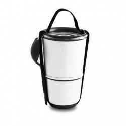 Ланч бокс / Контейнер Lunch Pot Black+Blum Белый / Черный