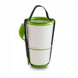 Ланч бокс / Контейнер Lunch Pot Black+Blum Белый / Зеленый