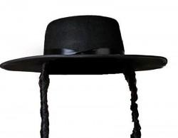 Шляпа еврейская с пейсами
