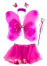 Детский карнавальный костюм Феи розовый