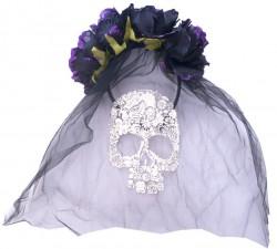 Аксессуары Halloween Обруч невесты Дракулы с фатой
