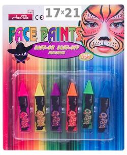 Аквагрим 6 красок