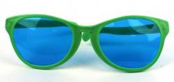 Очки прикол гигант Рей Бен зеленые