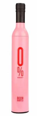 Зонт бутылка розовый