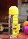 Бутылка для воды Pill Vitamin Water Bottle Yellow