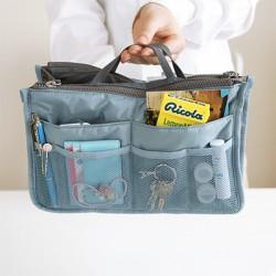 Многофункциональный Органайзер в сумку Bag in Bag Голубой