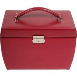 Шкатулка для украшений, 0 Red, бордовый