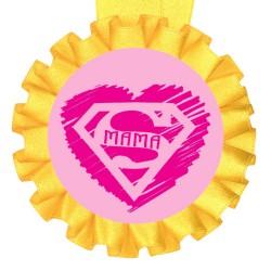 Медаль прикольная Супер мама