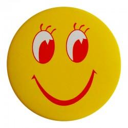 Магнит Смайлик с открывалкой желтый