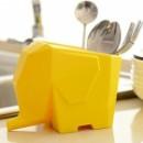 Сушилка для столовых приборов Слон Yellow