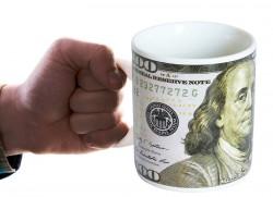 Кружка гигант Доллар